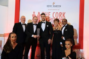 Award win the cherry on top for of great year for Herlihy's Centra
