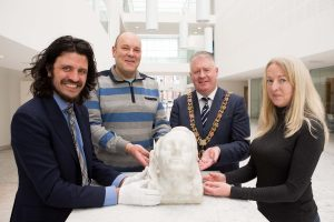 A marble bust of one of Cork's martyr Lord Mayors and a second important War of Independence artefact are acquired for the people of Cork by Cork City Council