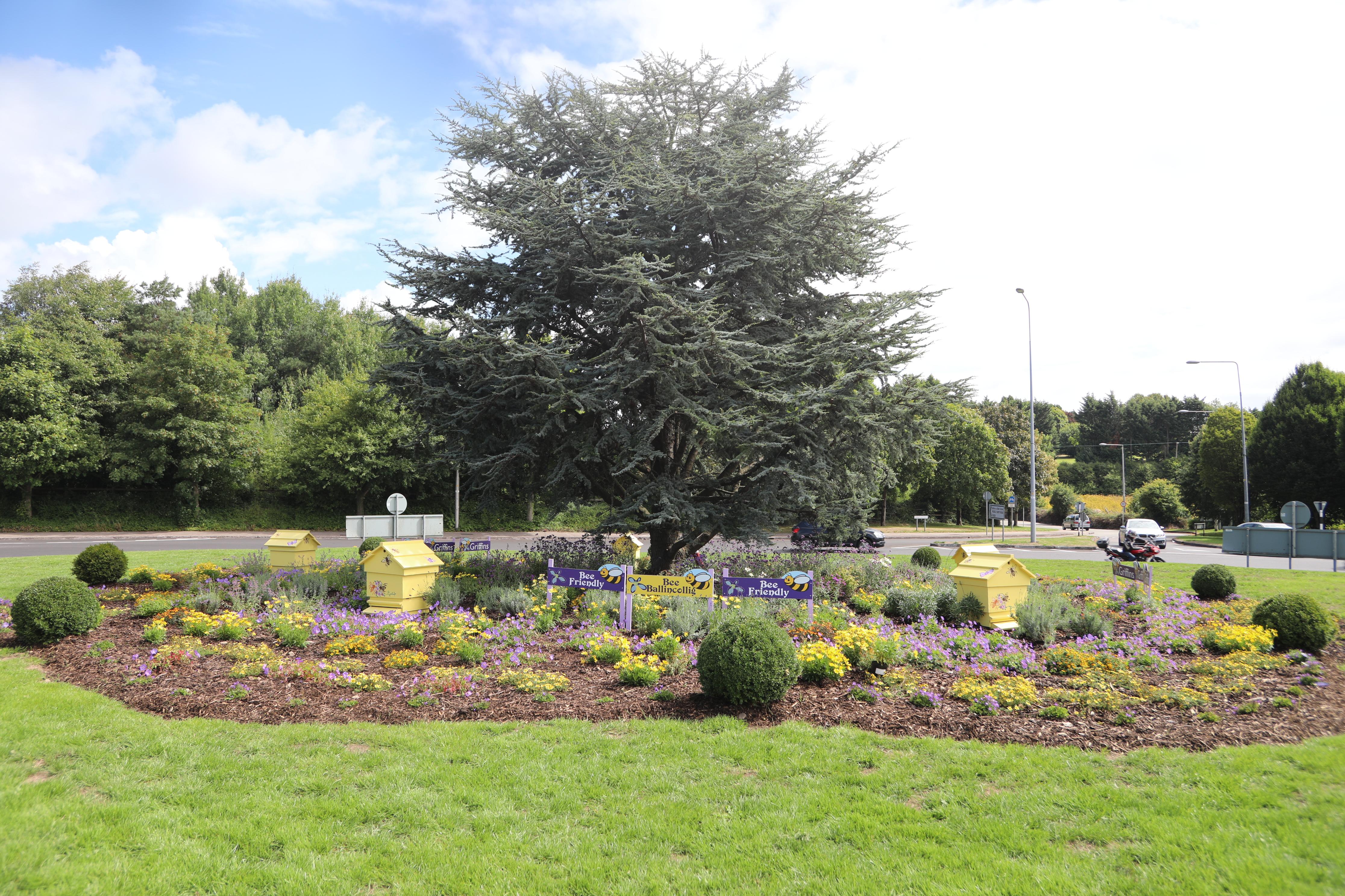 Griffins Garden Centre – Bee Friendly Poulavone Roundabout