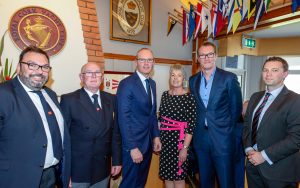 Hugely Successful Inaugural Sponsors & Members Corporate Lunch at the Royal Cork Yacht Club