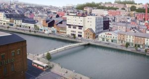 Cork's newest bridge, the Mary Elmes Bridge, is to be installed in the city centre next month