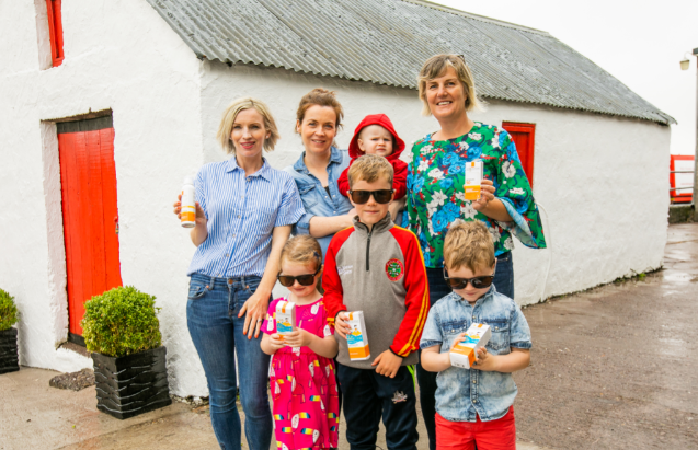 Dairygold go out in force to show its support for the Irish Cancer Society's SunSmart campaign