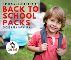 Feed Cork to provide free Back-to-School packs to families in Cork